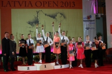 Latvia Open 2013 - first day